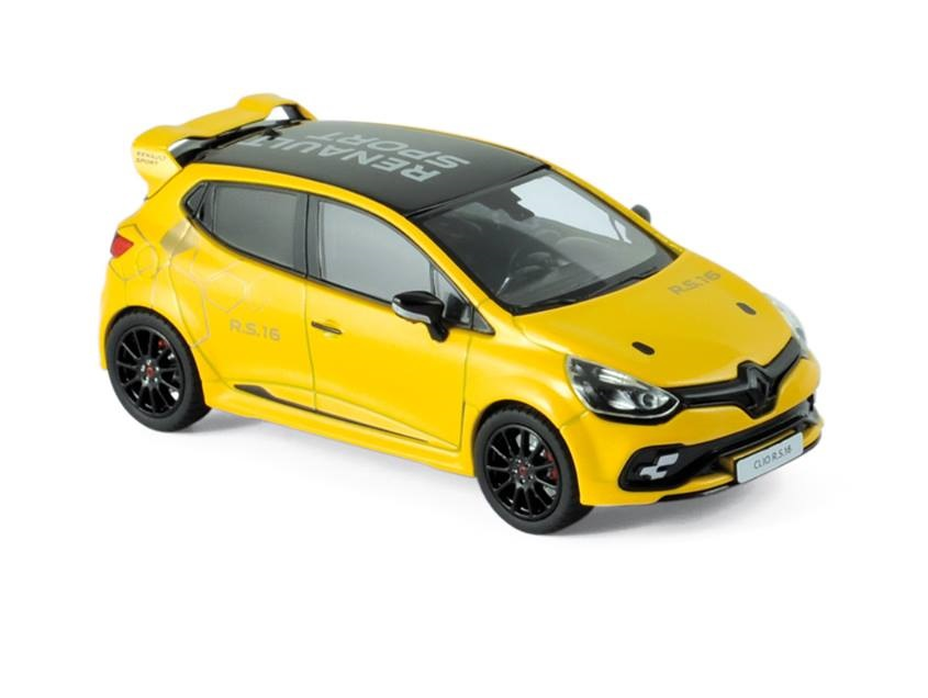 2016 Renault Clio Rs 16 Concept In Yellow 143 Scale Model By Norev