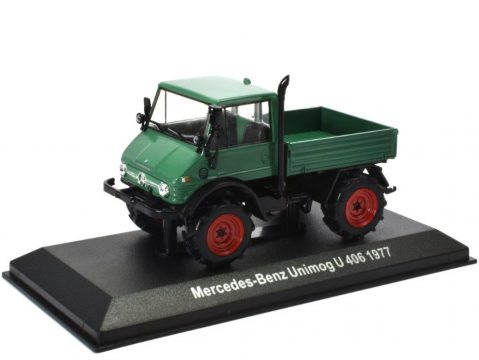 1977 MERCEDES BENZ UNIMOG U 406 - 1/43 scale model by Altaya
