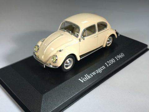 VOLKSWAGEN BEETLE 1200 - 1/43 scale partwork model - Atlas Editions