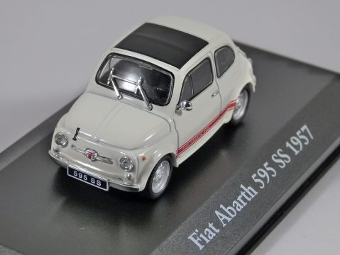 1957 FIAT ABARTH 595 SS - 1/43 scale partwork model - Atlas Editions
