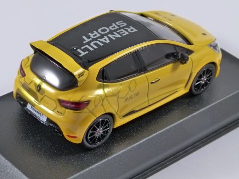2016 RENAULT CLIO RS 16 CONCEPT in Yellow 1/43 scale model by Norev