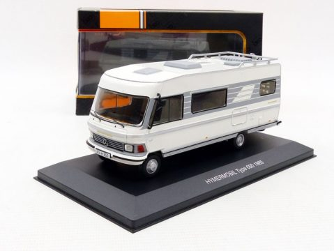 1985 HYMER MOBIL Type 650 HymerMobil CAMPER 1/43 scale model IXO