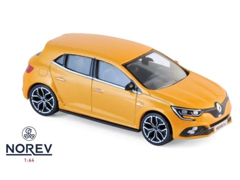 2017 RENAULT MEGANE RS in Tonic Orange 1/64 scale model by Norev
