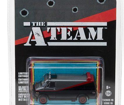 1983 GMC VANDURA The A Team - 1/64 scale model by Greenlight