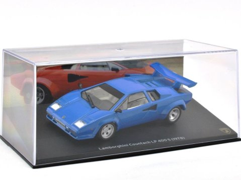 1978 LAMBORGHINI COUNTACH LP 400S in Blue 1/43 scale model