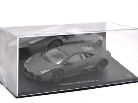 2007 LAMBORGHINI REVENTON in Matt Black 1/43 scale model