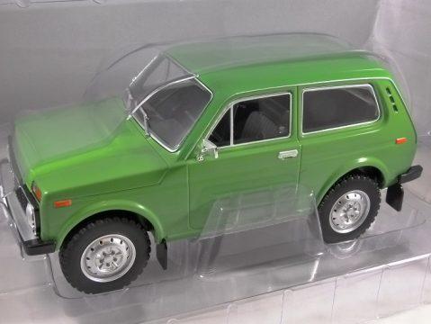1976 LADA NIVA in Green 1/18 scale model by MCG