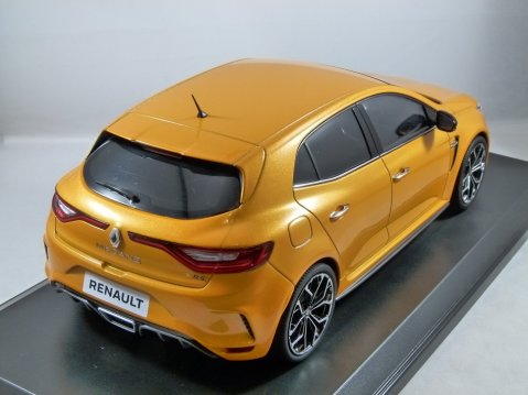 2017 RENAULT MEGANE RS in Tonic Orange 1/18 scale model by Norev