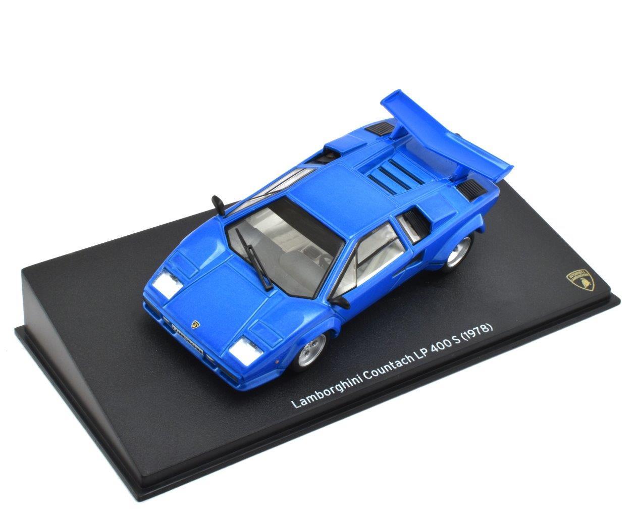 1978 Lamborghini Countach Lp 400s In Blue 1 43 Scale Model