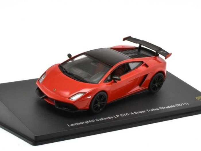 2011 LAMBORGHINI GALLARDO LP570-4 Super Trofeo Stradale 1/43 scale model