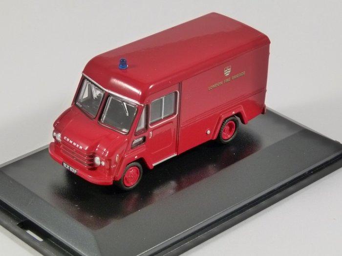 COMMER Walk Thru Van - London Fire Brigade - 1/76 scale model OXFORD DIECAST