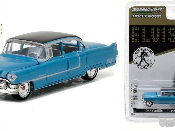 1955 CADILLAC FLEETWOOD Series 60 Elvis Presley - 1/64 scale model GREENLIGHT
