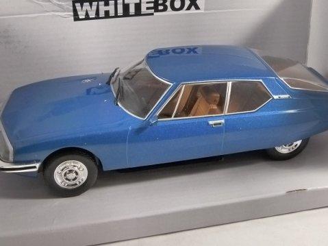 1970 CITROEN SM in Blue 1/24 scale model by Whitebox