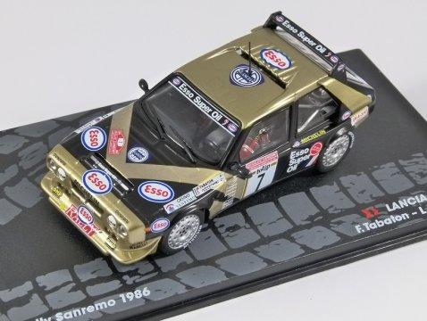 LANCIA DELTA S4 - Rally SanRemo 1986 - 1/43 scale partwork model