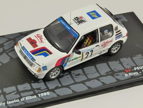 PEUGEOT 205 GTi - Rally Isola d'Elba 1985 - 1/43 scale partwork model