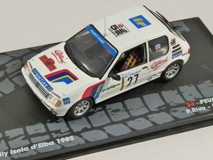 PEUGEOT 205 GTi - Rally Isola d'Elba 1985 - 1/43 scale partwork model