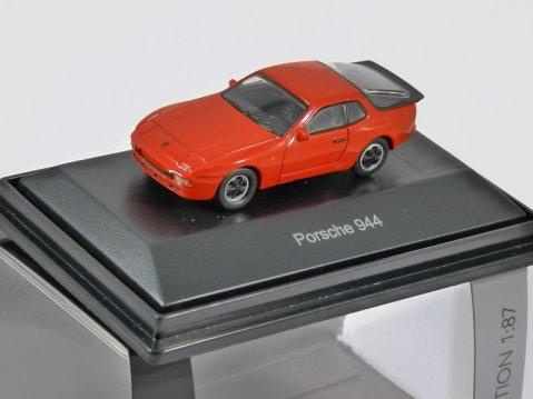 Schuco PORSCHE 944 in Red 1/87 scale model