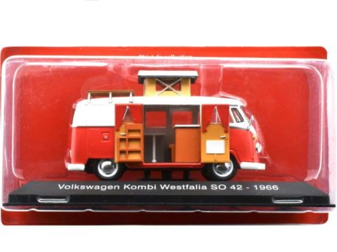 1966 VOLKSWAGEN T1 KOMBI WESTFALIA 1/43 scale partwork model