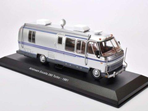 1981 AIRSTREAM EXCELLA 280 TURBO Camper 1/43 scale partwork model
