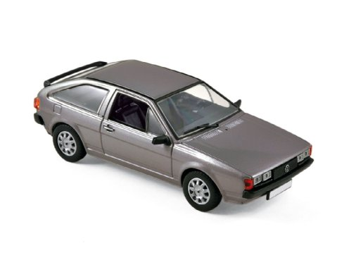 1981 VOLKSWAGEN SCIROCCO GT in Anthracite Grey 1/43 scale model by Norev