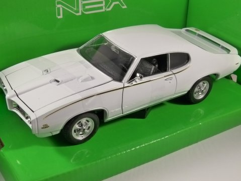 1969 PONTIAC GTO The Judge 1/24 scale model by WELLY