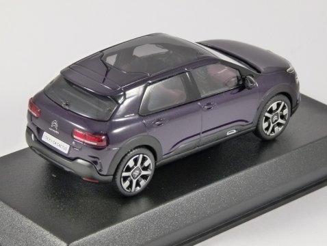2018 CITROEN C4 CACTUS in Deep Purple 1/43 scale model by Norev