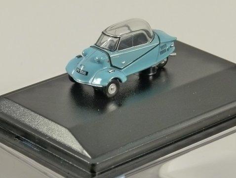 MESSERSCHMITT KR200 Bubble Car in Blue 1/76 scale model OXFORD DIECAST