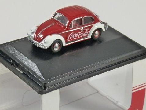 VOLKSWAGEN BEETLE Coca Cola 1/76 scale model OXFORD DIECAST