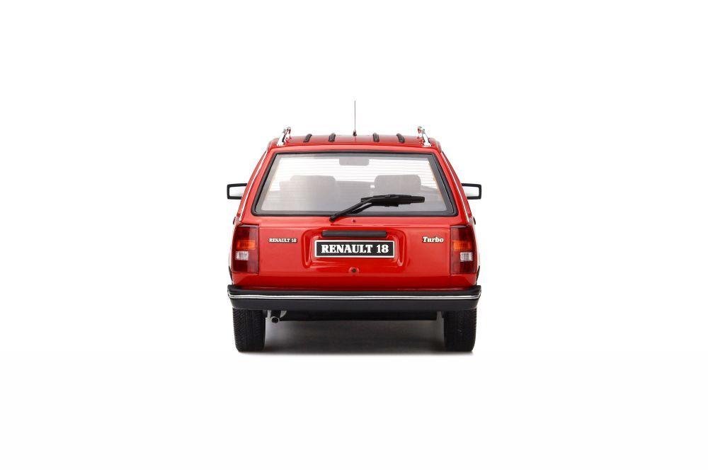 renault 18 turbo break in red 1 18 scale model otto ottomobile. Black Bedroom Furniture Sets. Home Design Ideas