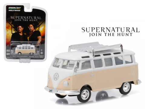 1967 VOLKSWAGEN T1 SAMBA Bus - Supernatural - 1/64 scale model GREENLIGHT