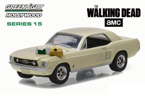 1967 FORD MUSTANG COUPE - The Walking Dead 1/64 scale model GREENLIGHT