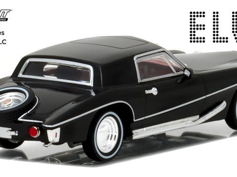1971 STUTZ BLACKHAWK Elvis Presley - 1/43 scale model GREENLIGHT