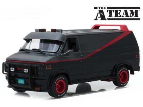 1983 GMC VANDURA - The A Team Van - 1/43 scale model GREENLIGHT