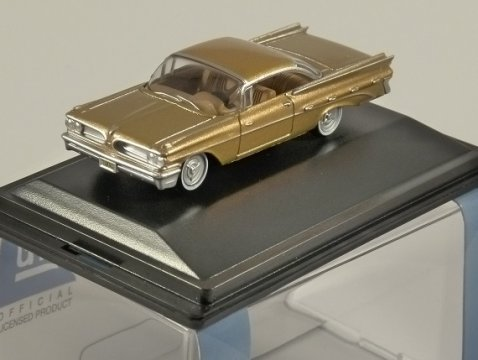 1959 PONTIAC BONNEVILLE COUPE in Copper 1/87 scale model OXFORD DIECAST