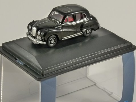 AUSTIN SOMERSET in Black 1/76 scale model OXFORD DIECAST