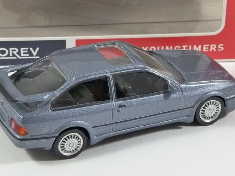1986 FORD SIERRA RS COSWORTH in Moonstone 1/43 scale model by Norev