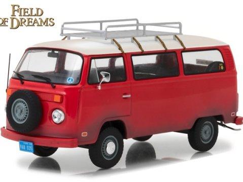 1973 VOLKSWAGEN TYPE 2 BUS - Field Of Dreams - 1/24 scale model by Greenlight