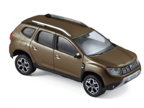2018 DACIA DUSTER in Vision Brown 1/43 scale model by Norev