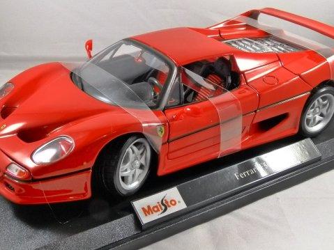 FERRARI F50 in Red 1/18 scale model MAISTO
