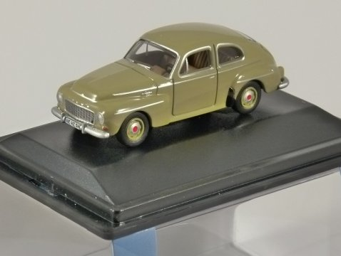 VOLVO 544 in Yellow 1/76 scale model OXFORD DIECAST