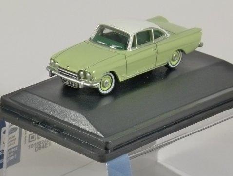 FORD CONSUL CAPRI in Green / White 1/76 scale model OXFORD DIECAST