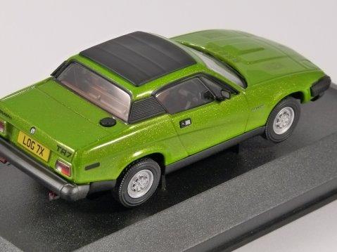 TRIUMPH TR7 FHC in Triton Green 1/43 scale model by Corgi