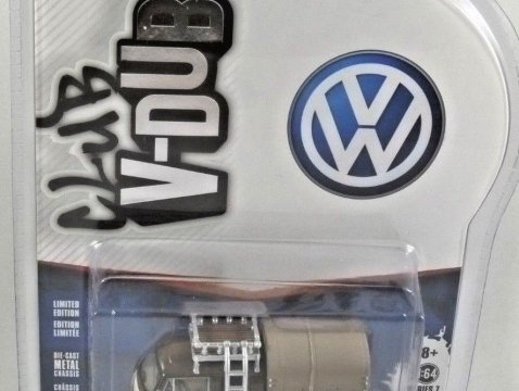 1969 VOLKSWAGEN T2 DOUBLE CAB PICK UP - 1/64 scale model GREENLIGHT