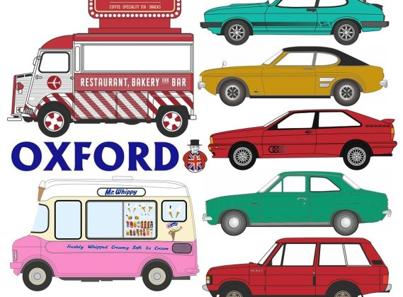 Oxford Diecast 2019 New Announcements