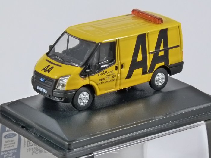 FORD TRANSIT Mk5 - AA - 1/76 scale model OXFORD DIECAST
