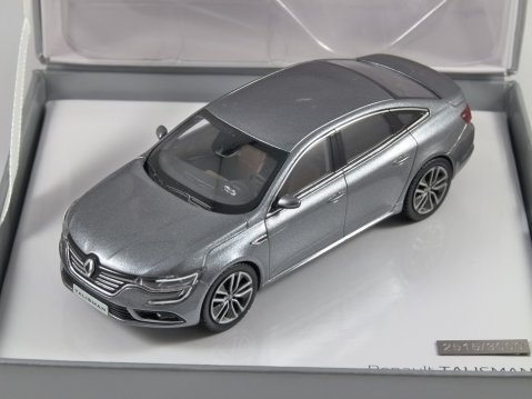 RENAULT TALISMAN in Grey 1/43 scale model by Norev