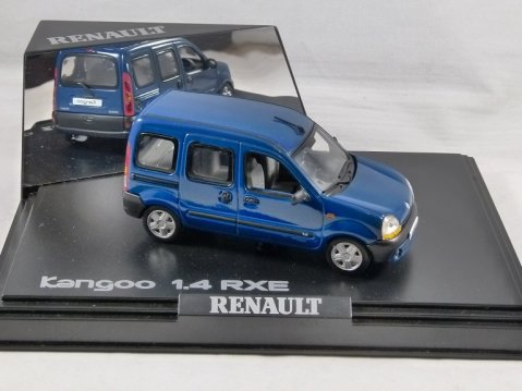 RENAULT KANGOO 1.4 RXE in Blue 1/43 scale model by Norev