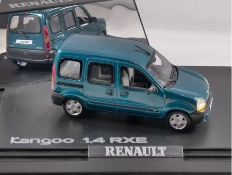 RENAULT KANGOO 1.4 RXE in Green 1/43 scale model by Norev