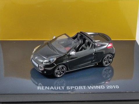 2010 RENAULT SPORT WIND in Black 1/43 scale model by Minichamps