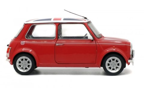 1997 MINI COOPER SPORT 'Union Jack' in Red 1/18 scale model by Solido